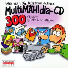 MultiMÄH!dia-CD, 1 CD-ROM 300 ClipArts für alle Lebenslagen. Für Windows 3.1/95