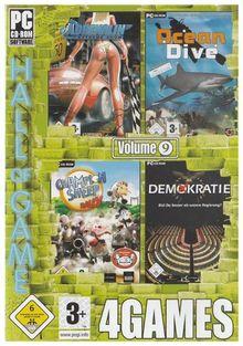 4Games Vol. 9 (Adrenalin / Ocean Dive / Championsheep Rally / Demokratie!)