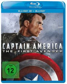 Captain America - The First Avenger (inkl. 2D Blu-ray) [3D Blu-ray]
