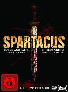 Spartacus: Complete Box (16 Discs, Geschnittene Version)