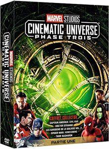 Coffret intégrale marvel phase 3, 5 films [FR Import]