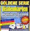 Goldene Serie. Visitenkarten- Druckerei 2000. CD- ROM für Windows 95/98