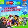 Paw Patrol • Willkommen in Adventure Bay!: Puzzlekettenbuch mit 5 Puzzles mit je 6 Teilen