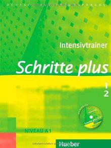 Schritte plus 1+2: Deutsch als Fremdsprache / Intensivtrainer mit Audio-CD zu Band 1 und 2