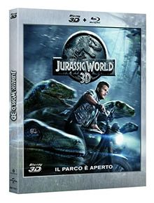 Jurassic World (2D+3D) [3D Blu-ray] [IT Import]