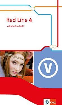 Red Line / Ausgabe 2014: Red Line / Vokabellernheft 8. Schuljahr: Ausgabe 2014