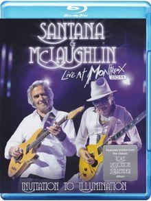 Santana & McLaughlin - Live At Montreux 2011/Invitation to Illumination [Blu-ray]
