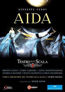 Verdi:Aida [Carlo Colombara; Anita Rachvelishvili; Choir and Orchestra of the Teatro alla Scala,Zubin Mehta] [C MAJOR ENTERTAINMENT: DVD] [UK Import]