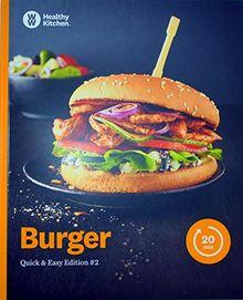 Burger Kochbuch von Weight Watchers 2019 - *Quick & Easy Edition: #2*