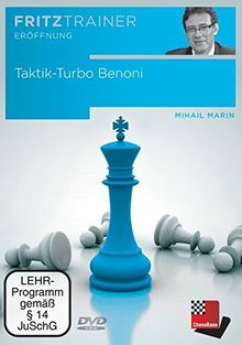 Taktik-Turbo Benoni, DVD-ROMInteraktives Video-Schachtraining