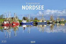 Faszination Nordsee 2021: Großer Foto-Wandkalender von der Küste und der Nordsee in Deutschland. PhotoArt Panorama Querformat: 58x39 cm.