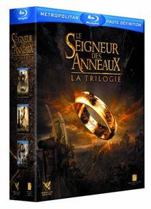 Coffret le seigneur des anneaux : la trilogie [Blu-ray] [FR Import]
