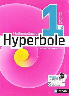 Mathématiques 1re Hyperbole