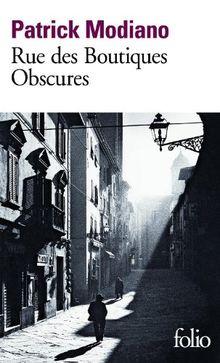Rue des boutiques obscures (Folio)