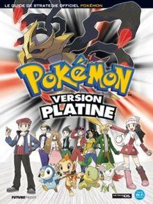 Guide Pokémon - version platine