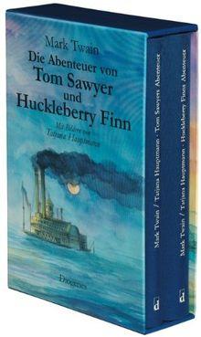 Die Abenteuer von Tom Sawyer und Huckleberry Finn: 2 Bde.