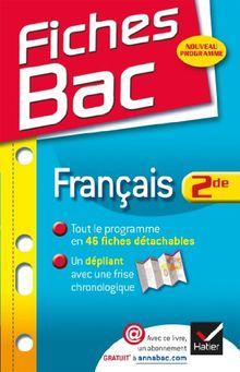 Fiches Bac: Francais 2de