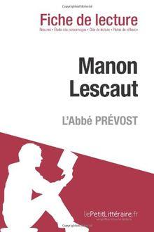 Manon Lescaut de l'Abbé Prévost (Fiche de lecture)