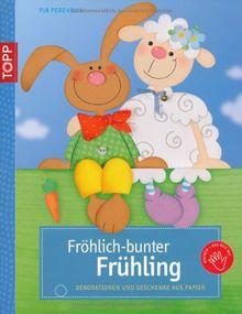 Fröhlich-bunter Frühling: Dekorationen und Geschenke aus Papier