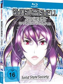 Ghost in the Shell - Stand Alone Complex: Solid State Society (Mediabook) [Blu-ray]