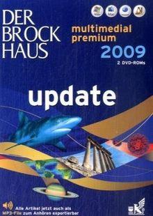Der Brockhaus multimedial 2009 premium Update DVD für Win Vista/XP/2000, Mac und Linux