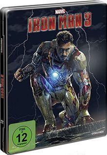 Metall Box: Iron Man 3 (FSK 12 Jahre) Blu-Ray