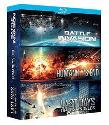 Coffret fantastique : humanity's end ; last days of los angeles ; battle invasion [Blu-ray]