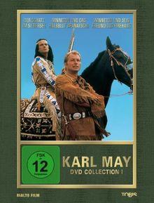 Karl May DVD-Collection 1 (Der Schatz im Silbersee / Winnetou und das Halbblut Apanatschi / Winnetou und sein Freund Old Firehand) (3 DVDs) [Limited Edition]