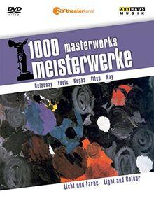 1000 Meisterwerke: Licht und Farbe, 1 DVD
