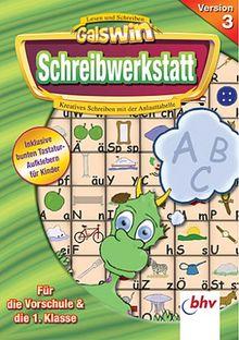 Galswin Schreibwerkstatt V.3 Vorschule und 1. Klasse
