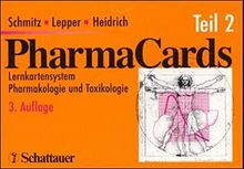 Pharmakards - Set / Lernkartensystem Pharmakologie und Toxikologie: PharmaCards, Tl.2, Kapitel 15-24