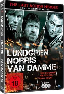 The Last Action Heroes (The Cutter, The Defender, Until Death) [3 DVDs]