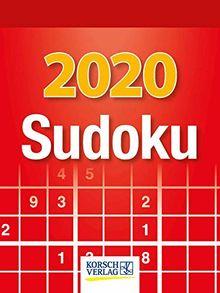 Sudoku 2020: Tages-Abreisskalender. Jeden Tag ein neues Sudoku. I Aufstellbar I 12 x 16 cm