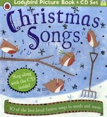 Christmas Songs Book and CD (Ladybird Picture Book)