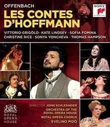 Jacques Offenbach - Les Contes d'Hoffmann/Hoffmanns Erzählungen [Blu-ray]
