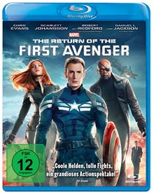 The Return of the First Avenger [Blu-ray]