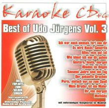 Best of Udo Jürgens Vol.3 - Karaoke
