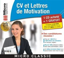CV & Lettres de motivation