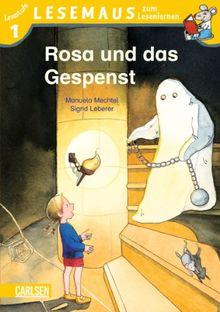 LESEMAUS zum Lesenlernen Stufe 1: Rosa und das Gespenst