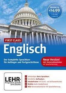 First Class Sprachkurs Englisch 15.0