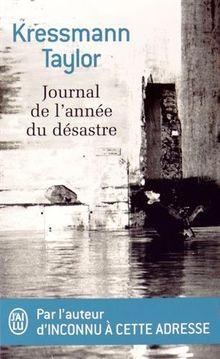Journal de l'annee du desastre