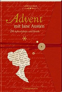 briefbuch advent mit jane austen 24 geschichten und. Black Bedroom Furniture Sets. Home Design Ideas