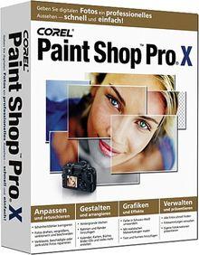Paint Shop Pro X deutsch