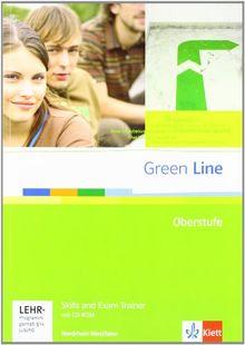 Green Line Oberstufe. Exam trainer mit CD-ROM. Klasse 11/12 (G8) ; Klasse 12/13 (G9). Ausgabe für Nordrhein-Westfalen
