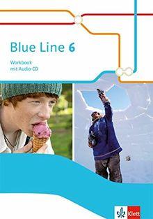 Blue Line 6: Workbook mit Audio-CD Klasse 10 (Blue Line. Ausgabe ab 2014)