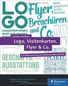 Logo Visitenkarten Flyer Co Geschäftsausstattung Und