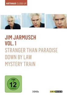 Jim Jarmusch Vol. 1 - Arthaus Close-Up (OmU) [3 DVDs]