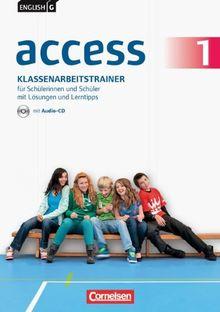 Band 1: 5. Schuljahr - Klassenarbeitstrainer mit Audio-CD, Lösungen und Lerntipps