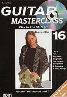 Guitar Masterclass, Band 16, Play In The Style Of Thomas Blug