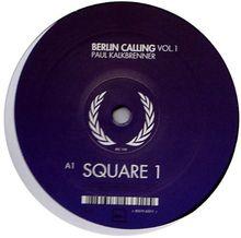 Berlin Calling Vol.1 [Vinyl Single]